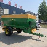 大型撒肥机 牵引式农用撒肥机 粪肥快速抛撒车