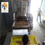 网带提升黄金带鱼油炸线 加工定制小银鱼油炸机设备