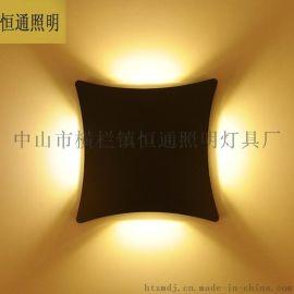 厂家直销LED户外防水墙壁灯 现代压铸壁灯