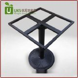 廠家直銷可調節金屬餐臺腳定做不鏽鋼鑄鐵餐桌腳