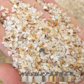石英砂儿童娱乐用圆粒质感砂 净水滤料添加白色石英砂