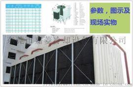 东莞低噪音LXRT-100L/SB横流式方形冷却塔