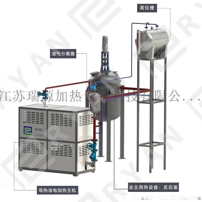 压机电加热导热油炉 双面贴压机导热油电加热器