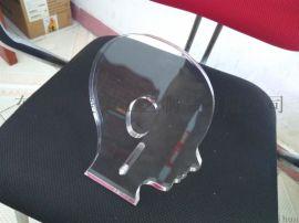 助听器透明亚克力展示架 有机玻璃展板
