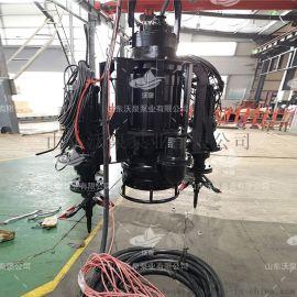 电动潜水河道采沙泵, 耐磨沙砾泵, 实用泥沙泵