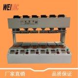 深圳手机壳6工位压合机 屏幕六工位恒温热压机 快速贴面压机直销