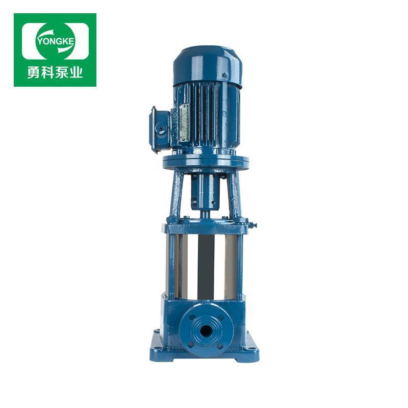 GDL125立式不锈钢多级泵 建筑工地农用灌溉水泵