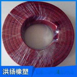 工业 耐油丁晴橡胶条 天然胶胶条 氟胶条 耐高温白色硅胶条 可定