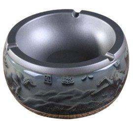 水晶浮雕烟灰缸