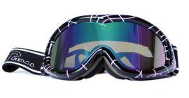批发护目防雾防紫外线防刮擦抗冲击滑雪镜 头戴式成人登山镜