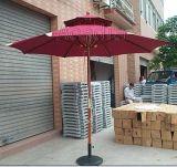 单拉绳双层木伞,中柱木伞,户外太阳伞(AC-U5306)