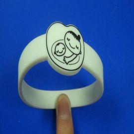 深圳exnan精美卡通硅胶手环,时尚漂亮
