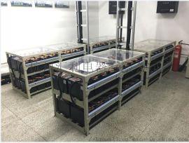 定制100AH,200AH拼装电池架 蓄电池钢架