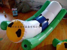 新款水上趣味充气玩具/百美趣味水上压压板直销生产/**安全