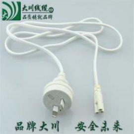 灯具电源线、LED灯管开关插头线、白色电源线、AC电源控制开关线