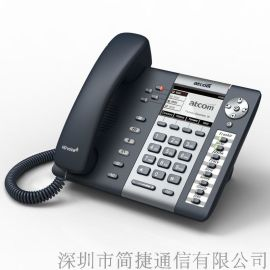 深简ATCOM彩虹Rainbow-2网络IP电话机SIP多功能4线高保真POE网络供电R2 IP话机