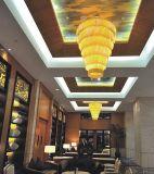 酒店大堂:水晶工程吸頂燈