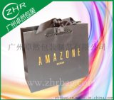 丝带烫金特种购物纸袋 网商包装纸袋 礼品纸袋