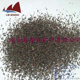 隆和矿产石榴石磨料 喷砂除锈磨料