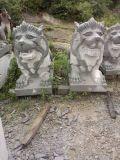 供应石雕趴狮,石雕石狮子,大型摆件石狮子