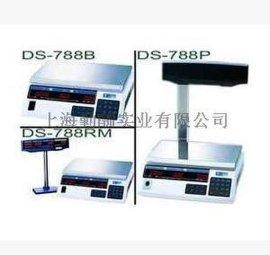 寺冈DS-788P电子计价秤 788P带立臂称重显示