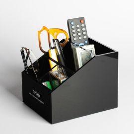 厂家供应**化妆品收纳盒 居家桌面口红眉笔刷展示工具 透明亚克力首饰储物箱组合