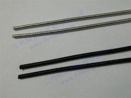 电缆耐磨、耐腐蚀保护套管,黑色PVC披覆金属软管销售