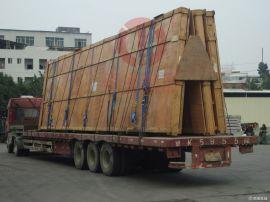 工厂设备运输压力机及配件出口真空包装