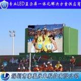 深圳廠家直銷戶外高清高刷新P6全綵led球場顯示屏