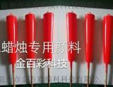 供应金百彩荧光大红TY530高温荧光颜料红包蜡烛用的颜料