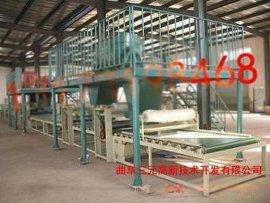 复合保温墙体生产线, 聚氨酯保温板生产线