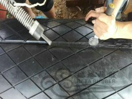 电厂输煤皮带滚筒包胶耐磨橡胶板