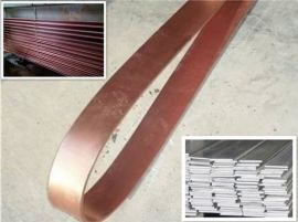 铜包钢接地扁线