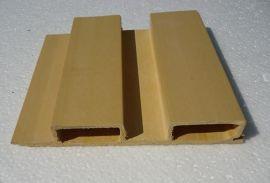 供应生态木厂家直销137*20木塑装饰板吸音板价格