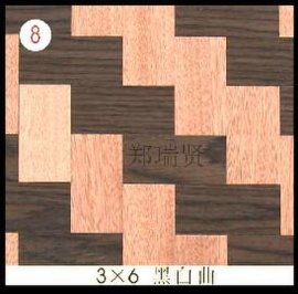 室内木皮编织板