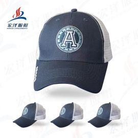 太阳帽棒球帽子现货休闲透气海绵网帽户外活动广告帽定制厂家批发