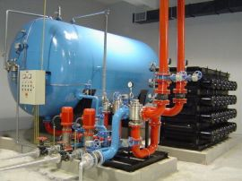 气体顶压应急消防气压给水设备DLC0.5/5-3
