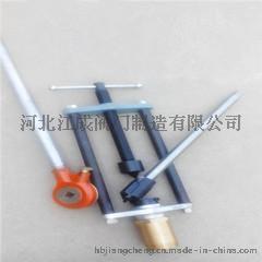 江成DN20钢管手动不停水钻孔机