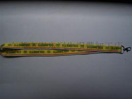 润生各款poly(涤纶)丝(热转)印厂牌吊带