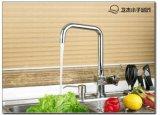 联帮洁具水龙头,12305全铜厨房可旋转菜盆水槽水龙头