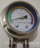 不鏽鋼結構的差壓表,詳細技術參數可致電諮詢