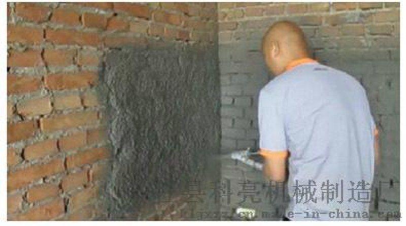 简述大排量水泥砂浆喷涂机如何喷出**效果