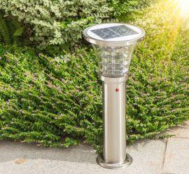江苏弘光照明工程公司生产家用不锈钢景观草坪灯led超亮太阳能灯