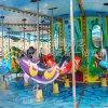 公園廣場遊樂設施/兒童豪華轉馬遊樂設備