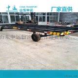 天津箱式板车 雨棚平板拖车
