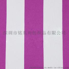 B6120 强捻仿丝绸双面条纹布
