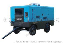 直销柴油移动螺杆空气压缩机 质保一年