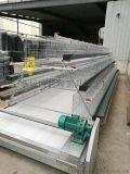 出售新型蛋鸡笼,三层四门电镀锌鸡笼子,可养96只鸡