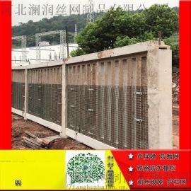安平恺嵘供应绿色金属防护网铁路栅栏厂家直销