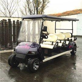 热销无锡8座电动高尔夫球车,景区治安车,度假村游览车